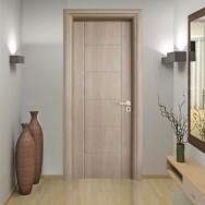 Iinterior of modern vestibule. 3D render